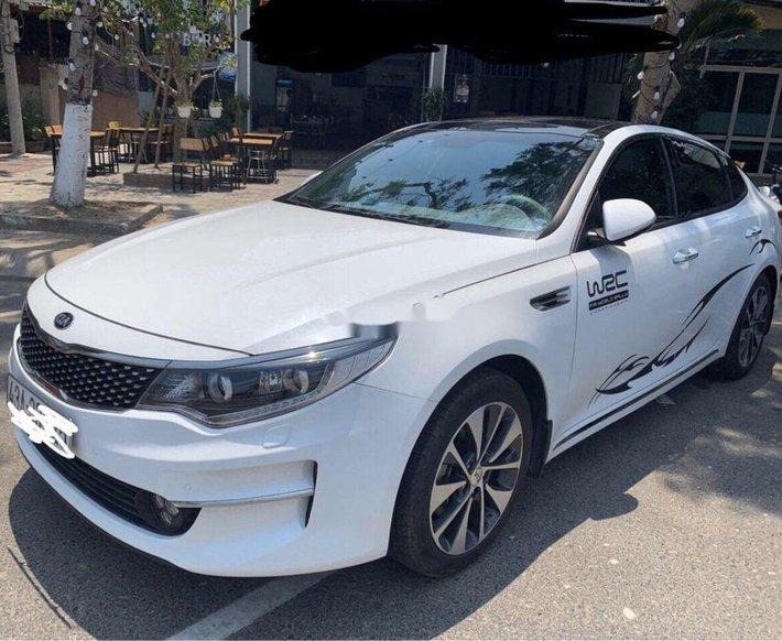 Bán ô tô Kia Optima năm sản xuất 2018, màu trắng còn mới0