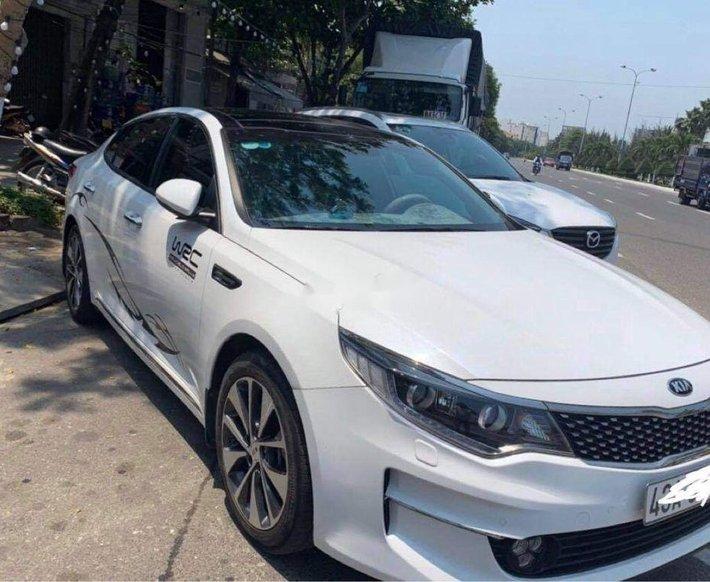 Bán ô tô Kia Optima năm sản xuất 2018, màu trắng còn mới1