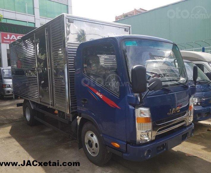 Xe tải JAC 1.9 tấn - thùng dài 4.3 mét - Động cơ Isuzu - Bảo hành 5 năm - Trả trước 90 Triệu lấy xe3