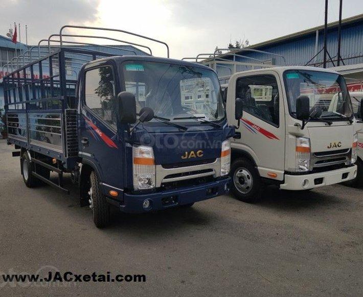 Xe tải JAC 1.9 tấn - thùng dài 4.3 mét - Động cơ Isuzu - Bảo hành 5 năm - Trả trước 90 Triệu lấy xe5