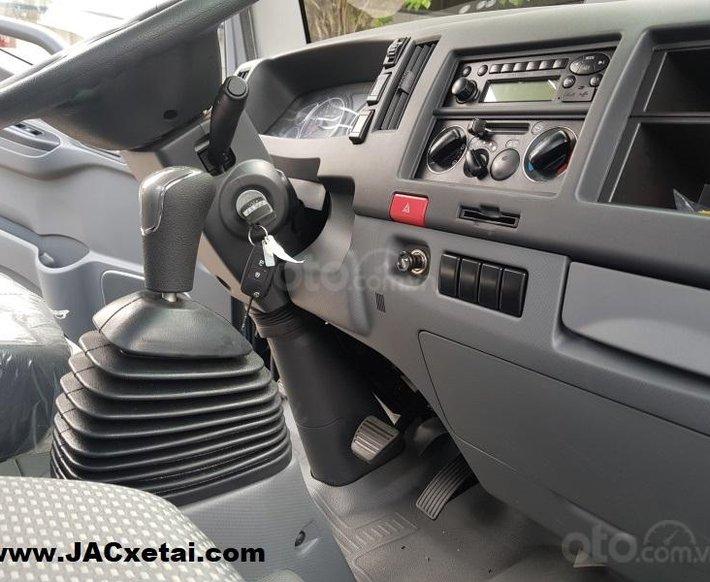 Xe tải JAC 1.9 tấn - thùng dài 4.3 mét - Động cơ Isuzu - Bảo hành 5 năm - Trả trước 90 Triệu lấy xe0