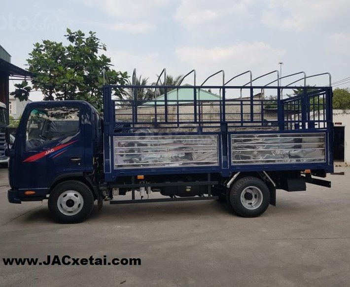 Xe tải JAC 1.9 tấn - thùng dài 4.3 mét - Động cơ Isuzu - Bảo hành 5 năm - Trả trước 90 Triệu lấy xe6