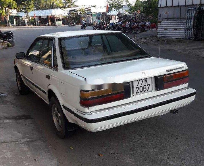 Bán ô tô Nissan Bluebird 1987, màu trắng, nhập khẩu chính chủ3