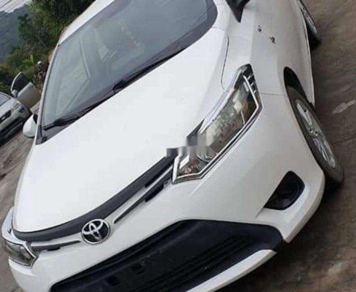 Bán ô tô Toyota Vios sản xuất 2015, màu trắng, 286 triệu0