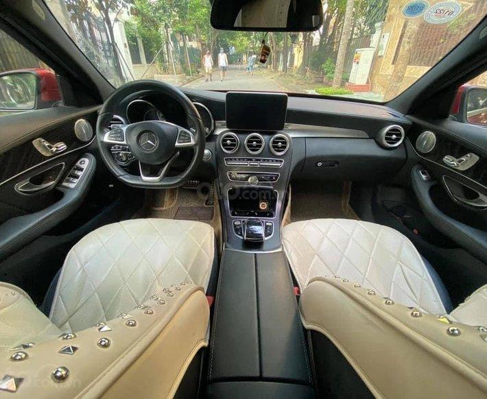 Cần bán xe Mercedes C300 AMG sản xuất năm 2016, hỗ trợ bank 70%14