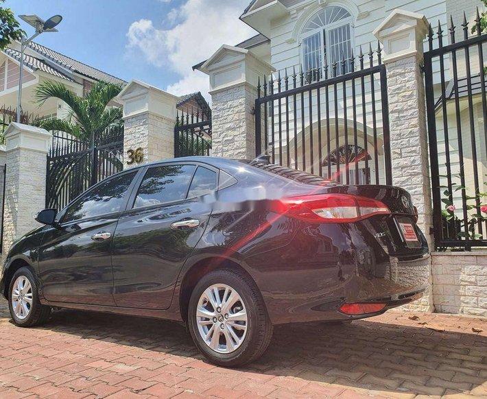 Cần bán xe Toyota Vios 1.5G đời 2020, màu đen còn mới, giá 575tr3