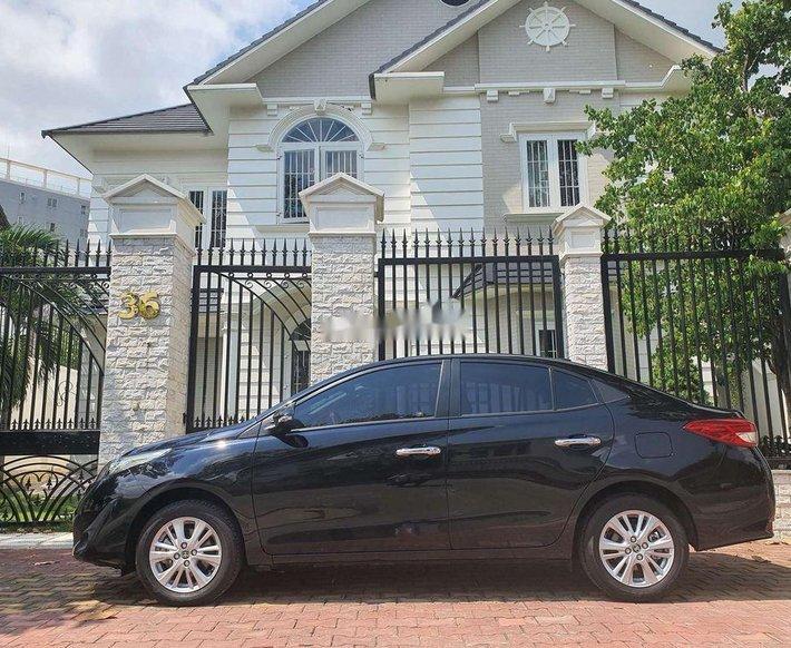 Cần bán xe Toyota Vios 1.5G đời 2020, màu đen còn mới, giá 575tr1