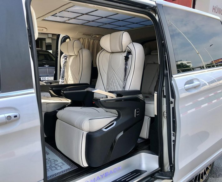 Bán Mercedes V250 Maybach 2016 được trang bị nhiều option1