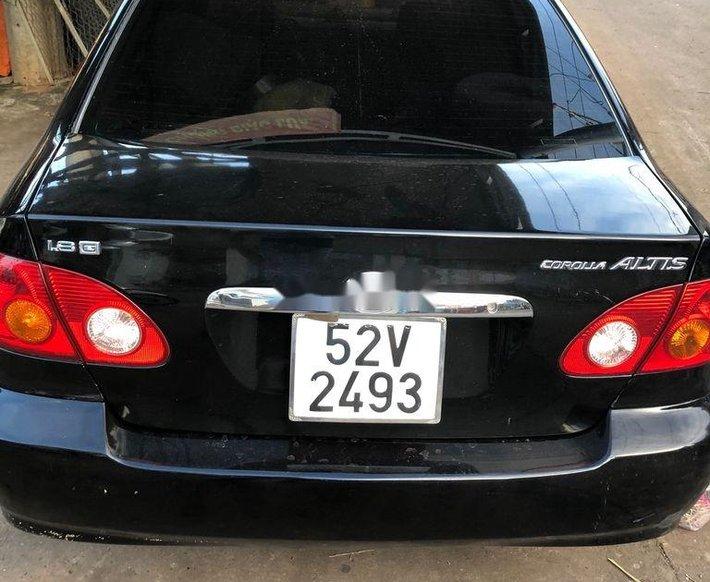 Bán Toyota Corolla Altis đời 2003, màu đen, 220 triệu3