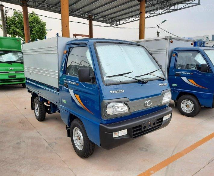 Xe tải Thaco Towner 800 sản xuất 2021 - tải dưới 1 tấn -  giá rẻ nhất thị trường - liên hệ ngay1