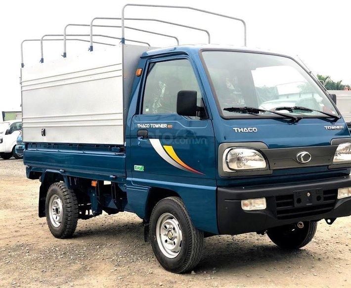 Xe tải Thaco Towner 800 sản xuất 2021 - tải dưới 1 tấn -  giá rẻ nhất thị trường - liên hệ ngay0