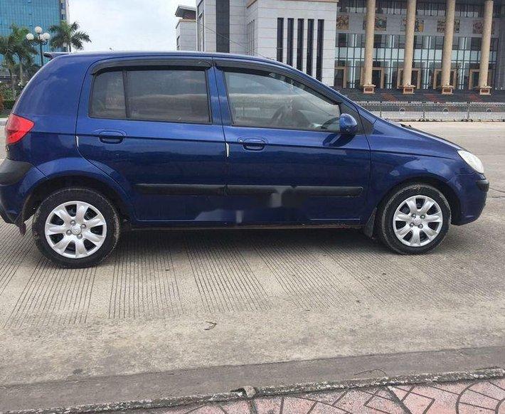 Cần bán Hyundai Getz đời 2010, màu đen, xe nhập, giá 193tr9