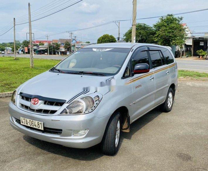 Bán xe Toyota Innova đời 2006, màu bạc, nhập khẩu chính chủ, giá 240tr4