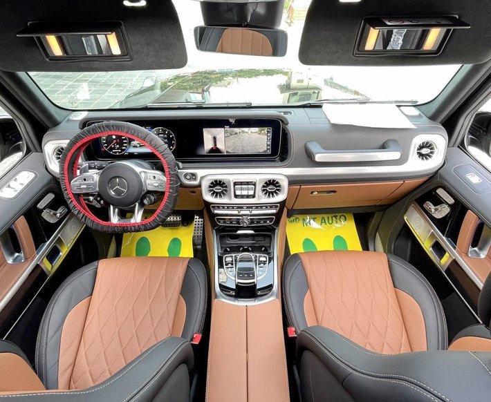 Mercedes G63 AMG 2021, bản full option - Gía tốt, giao xe ngay toàn quốc12