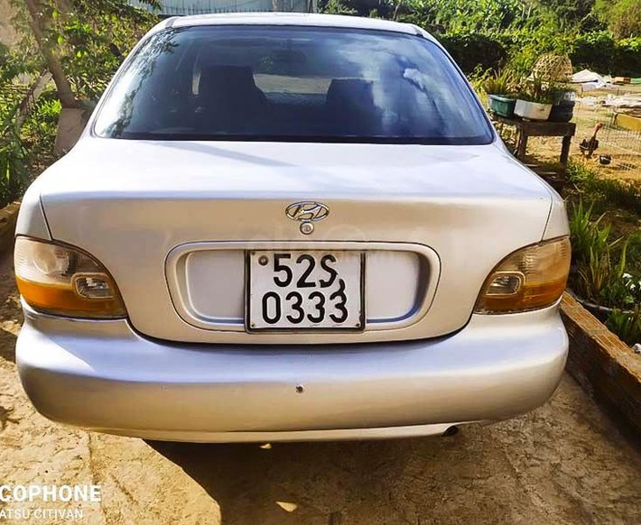 Bán xe Hyundai Accent năm sản xuất 1995, màu bạc, nhập khẩu nguyên chiếc2