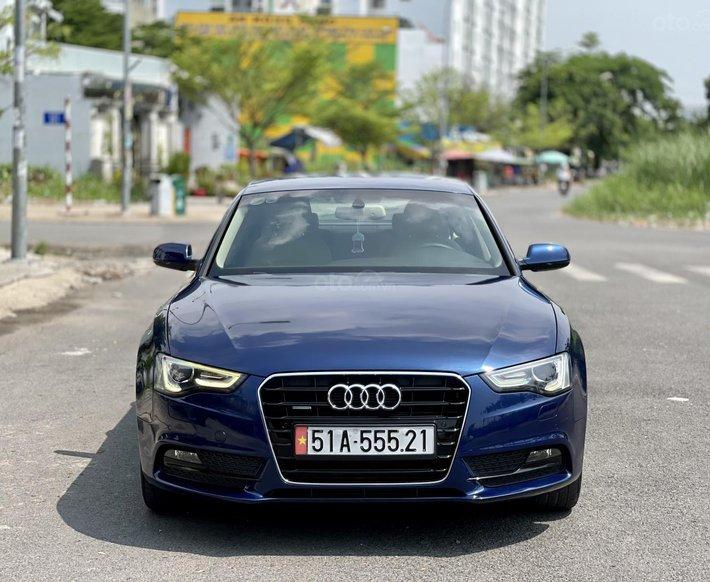 Bán Audi A5 Sportback 2.0 Quatro xanh/nâu model 20130