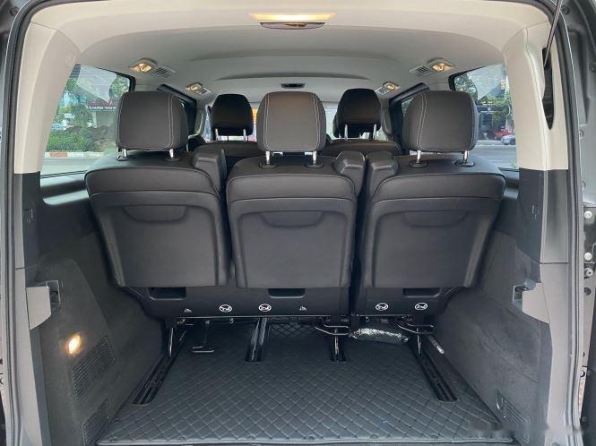 Xe Mercedes V Class sản xuất 2019, màu đen, giá tốt7
