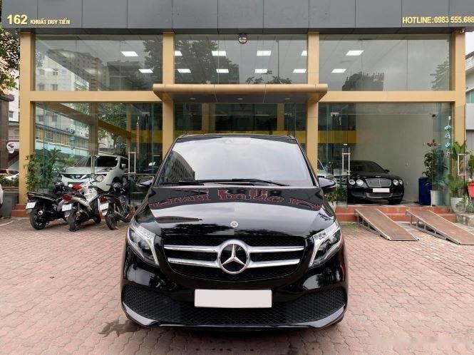 Xe Mercedes V Class sản xuất 2019, màu đen, giá tốt0