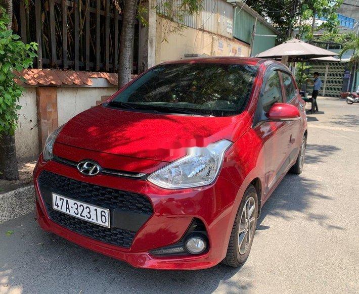 Bán Hyundai Grand i10 sản xuất năm 2019, màu đỏ, xe nhập 1