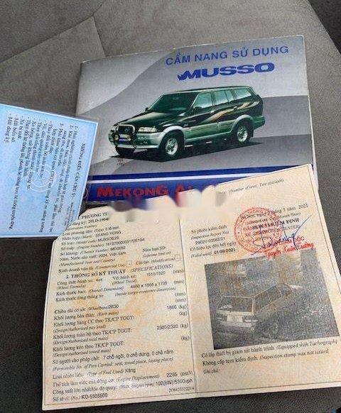 Cần bán gấp Ssangyong Musso năm 2004, nhập khẩu11