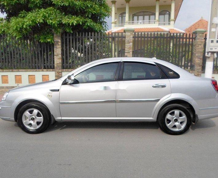 Bán xe Daewoo Lacetti đời 2009, màu bạc, nhập khẩu 2