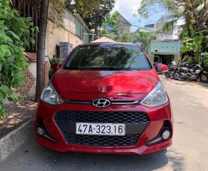 Bán Hyundai Grand i10 sản xuất năm 2019, màu đỏ, xe nhập 0