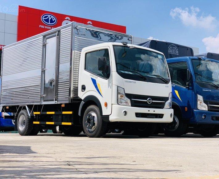 Xe tải Nissan 1T9 tấn thùng dài 4m2 - động cơ Nissan chuẩn Nhật - trả trước 150tr nhận xe0