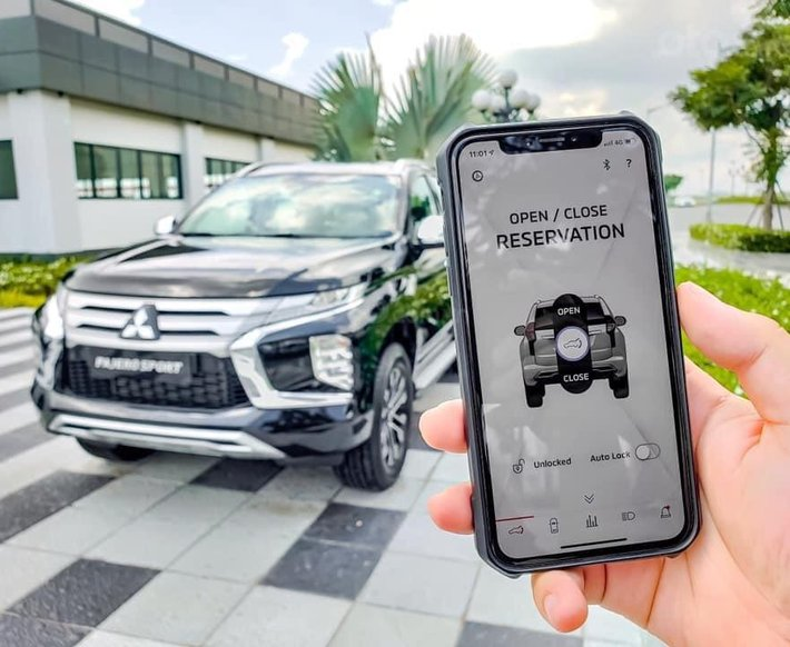 Cần bán xe Mitsubishi Pajero Sport đời 2021, màu trắng, nhập khẩu nguyên chiếc6