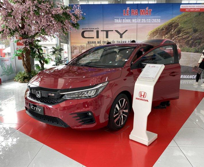 [Thái Bình, Hải Dương, Quảng Ninh] Honda City 2021 đủ phiên bản, tặng BHTV, hỗ trợ bank 80%, giảm ngay tiền mặt tại showroom0