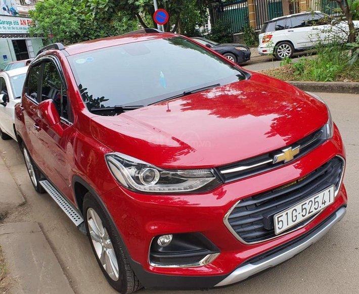 Cần bán gấp Chevrolet Trax 2016, màu đỏ, xe nhập, giá tốt6