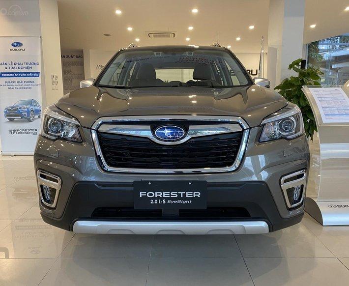 [Siêu hot] Subaru Giải Phóng bán Forester IS 2020 khuyến mãi tiền mặt 109tr, trả góp chỉ từ 300tr0