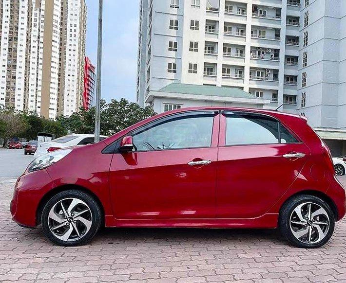 Cần bán gấp Kia Morning Si AT năm 2018, màu đỏ2