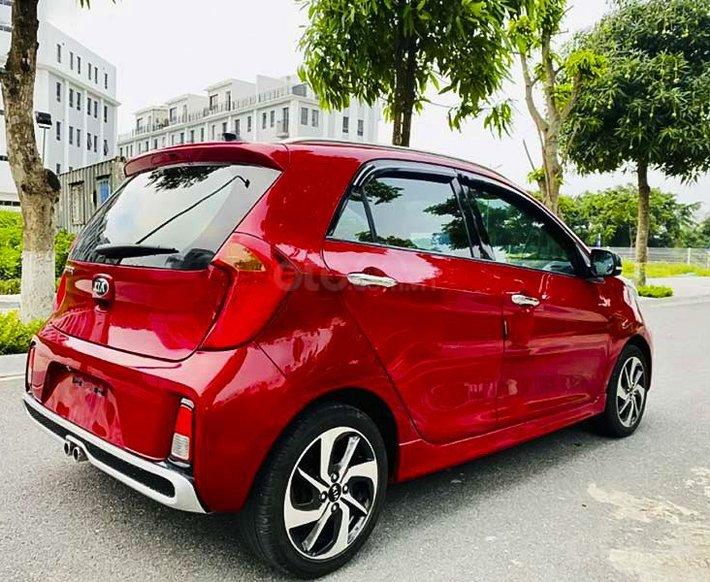 Bán Kia Morning S AT sản xuất năm 2018, màu đỏ, giá tốt1
