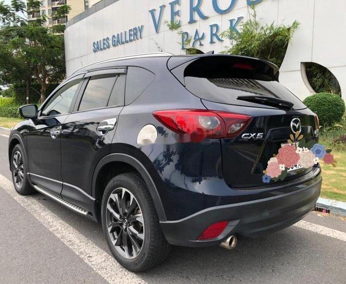 Bán Mazda CX 5 sản xuất 2017, màu xanh đen còn mới, giá chỉ 708 triệu5