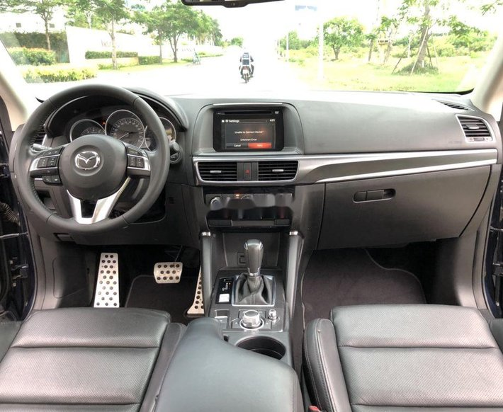 Bán Mazda CX 5 sản xuất 2017, màu xanh đen còn mới, giá chỉ 708 triệu6