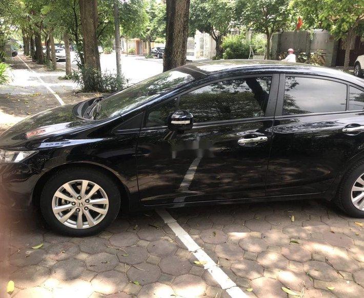 Bán Honda Civic năm 2014, màu đen chính chủ2