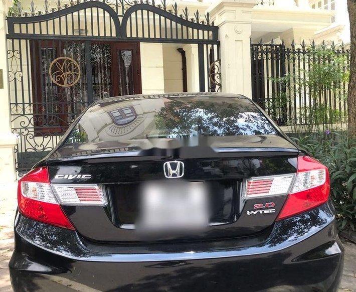 Bán Honda Civic năm 2014, màu đen chính chủ4