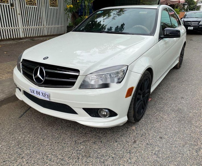 Cần bán Mercedes C class sản xuất 2008, nhập khẩu nguyên chiếc còn mới0