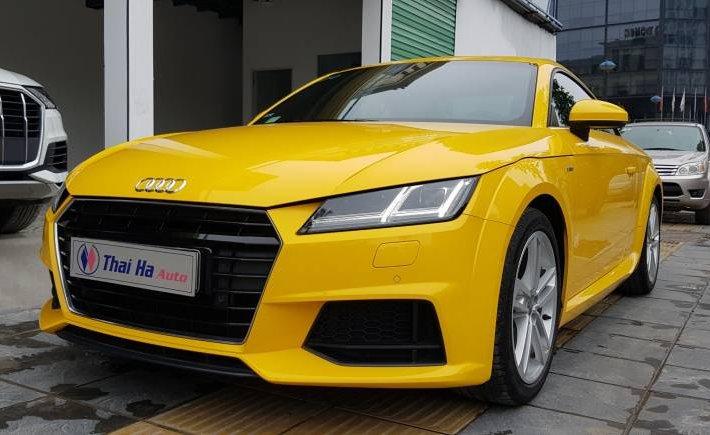 Cần bán lại xe Audi TT 2017, màu vàng, nhập khẩu nguyên chiếc0