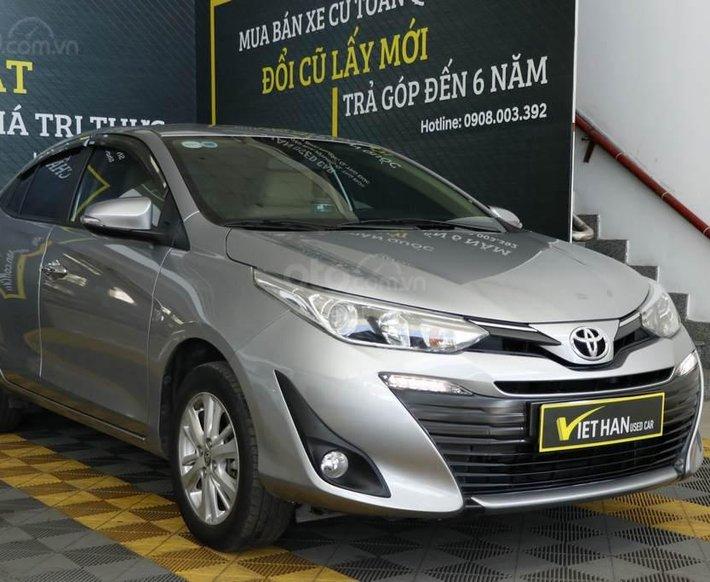 Cần bán gấp Toyota Vios năm 2019, màu xám0