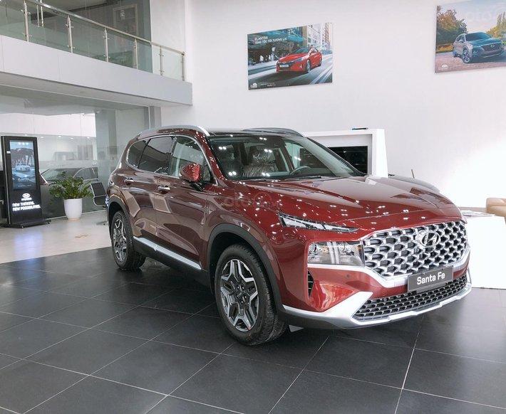 Siêu phẩm mới ra mắt - Hyundai Santa Fe all new 2021 - giá tốt0
