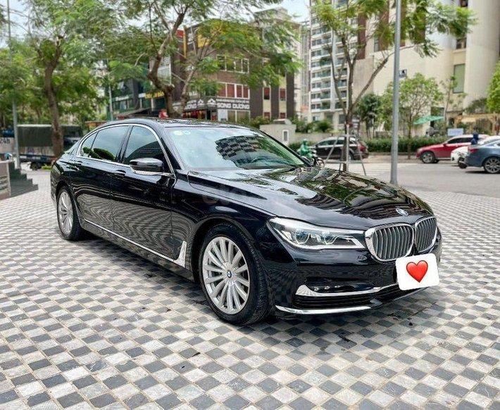 Cần bán lại xe BMW 740Li năm 2016, màu đen, nhập khẩu0