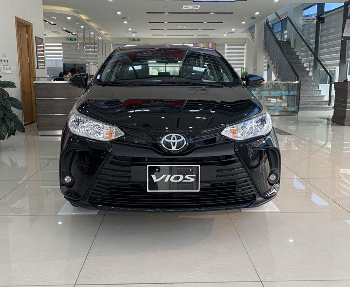 [Ưu đãi lớn - Giảm cực sâu] thanh toán 143tr nhận ngay xe Toyota Vios 2021 1.5E, tặng phụ kiện chính hãng, giao xe ngay0
