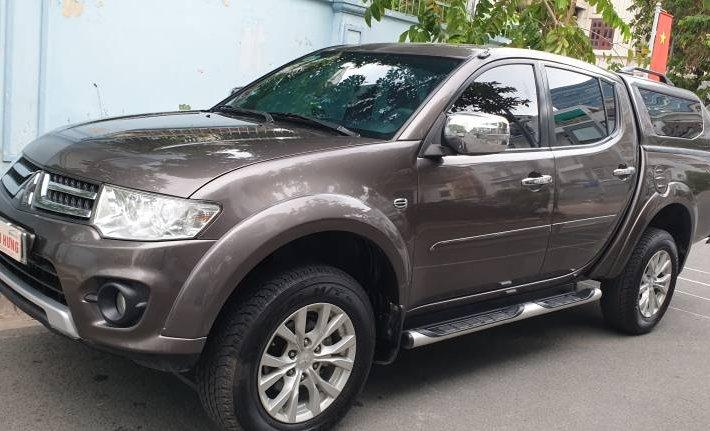 Cần bán lại xe Mitsubishi Triton 2014, màu nâu, nhập khẩu 0