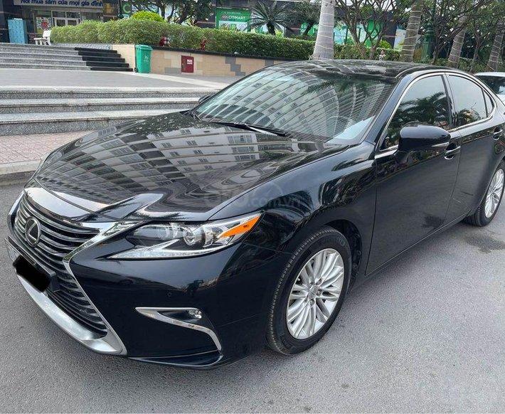 Bán Lexus ES250 đời 2016, màu đen, xe nhập0