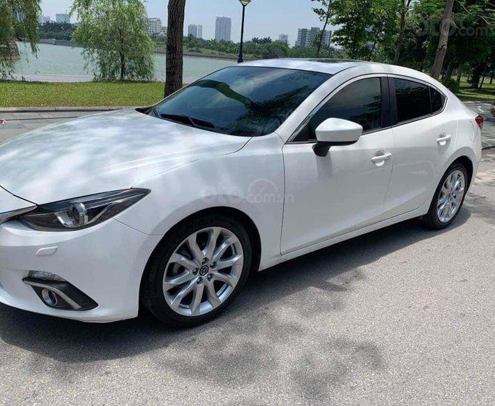 Bán xe Mazda 3 đời 2015, màu trắng, giá 508tr0