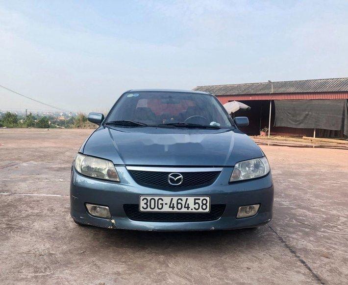 Bán xe Mazda 323 năm 2003, màu xanh, giá cạnh tranh0