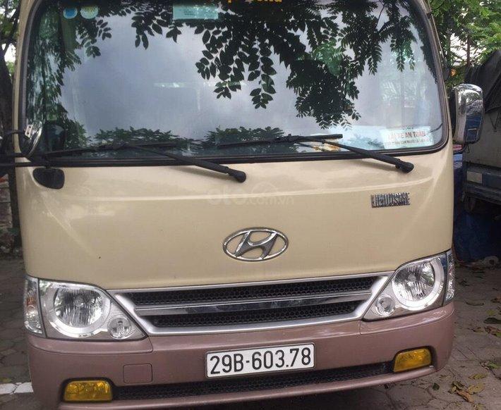 Bán ô tô Hyundai County sản xuất năm 20160