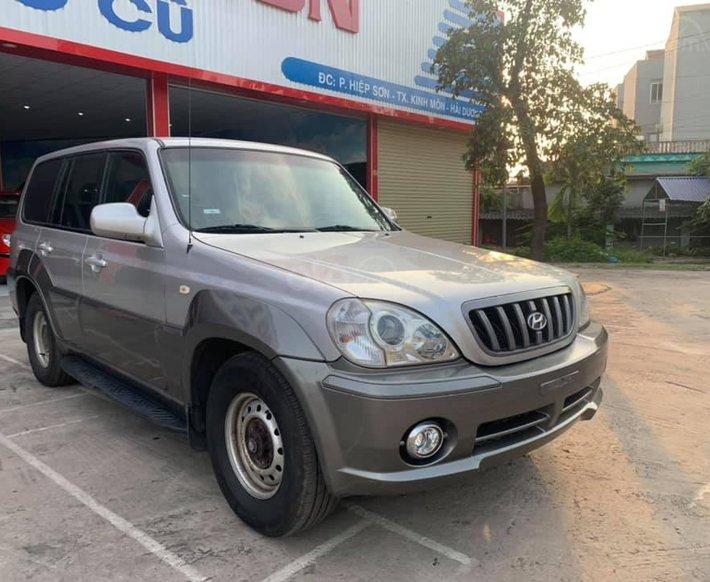 Cần bán lại xe Hyundai Terracan 2003, màu bạc số sàn0