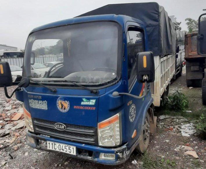 Ngân hàng bán phát mại tài sản xe tải mui bạt Veam VT2010